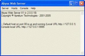 Abyss Web Server X1