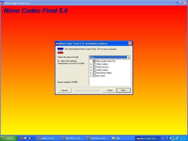 Nimo Codec Pack