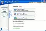 Registry Mechanic Finestra iniziale
