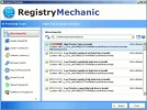 Registry Mechanic Risultati scansione